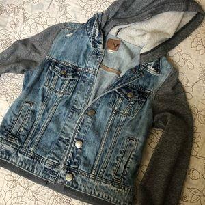 American Eagle Denim/Sweater Jacket - S